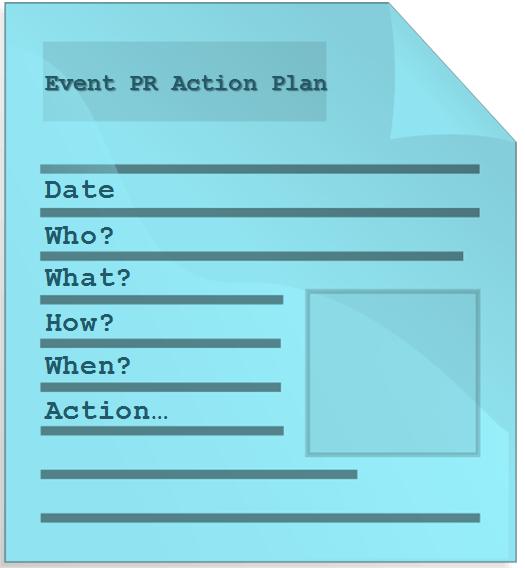 EVENT PR ACTION PLAN