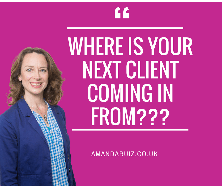 Where is your next client coming in from???
