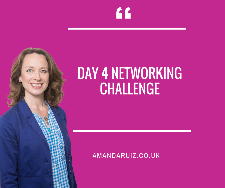 Day 4 Networking Challenge