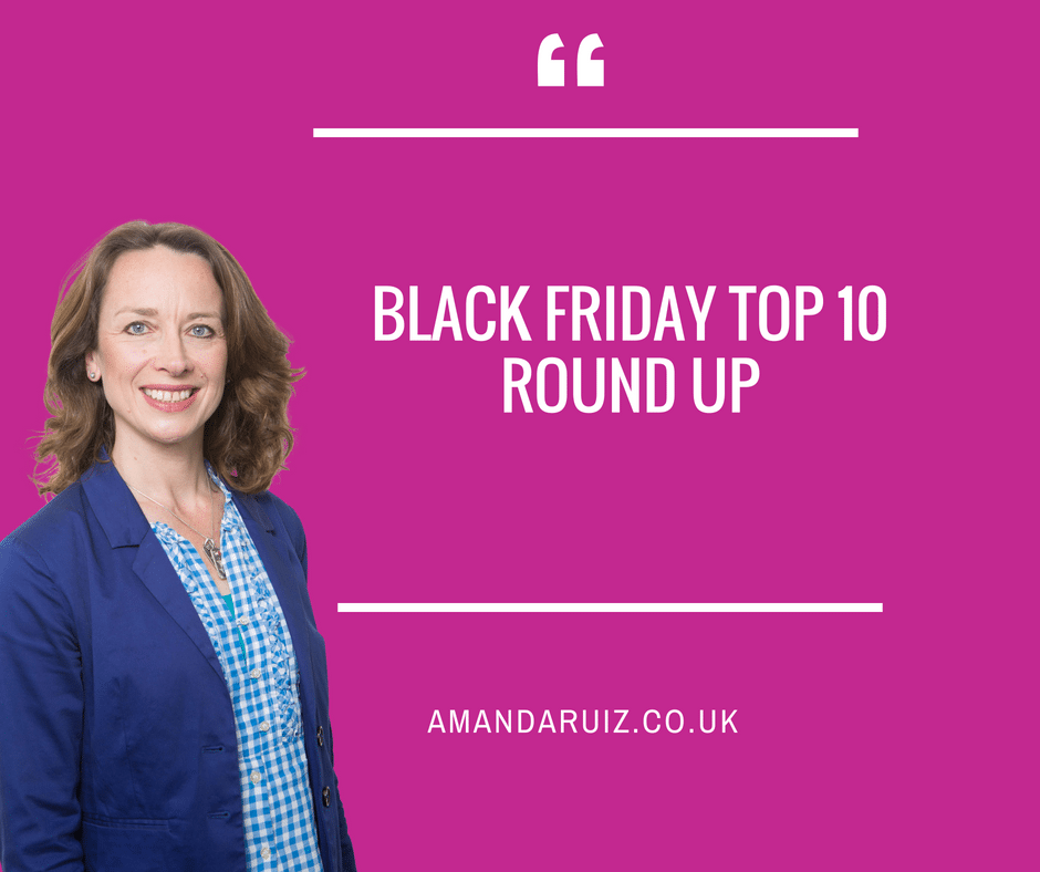 Black Friday Top 10 Round up