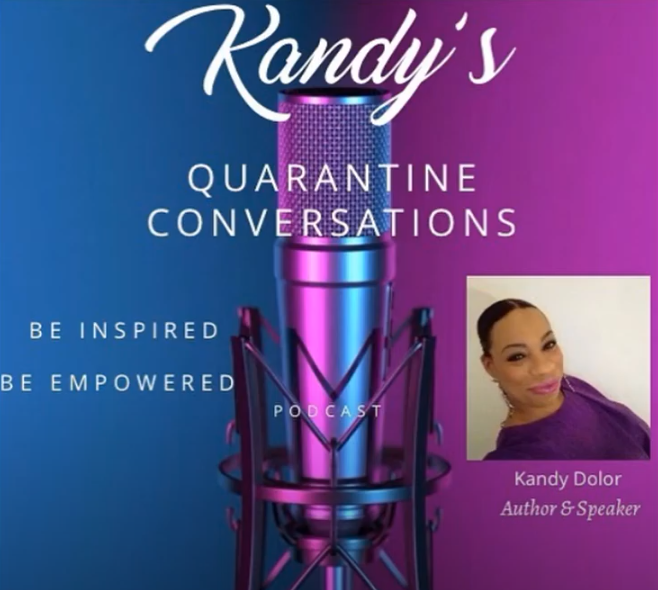 Quarantine Celebrity conversation with Kandy Dolor