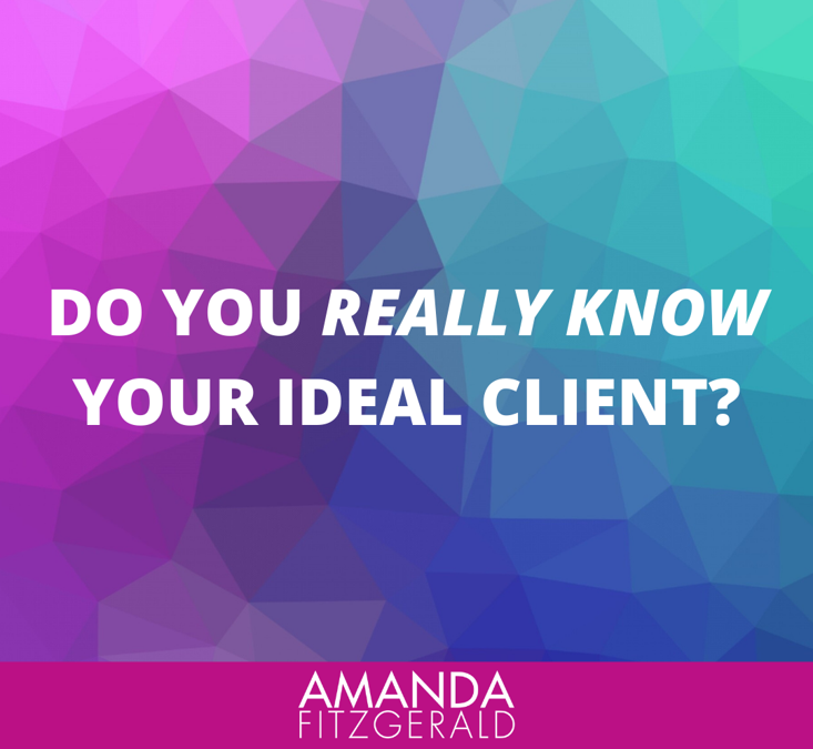How well do you know your ideal client?